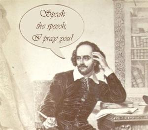 Shakespeare beseeches