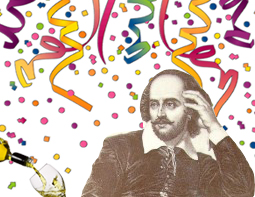 shakespeare's birthday drink